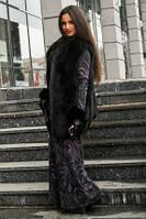 Платье макси ангора очень теплое длинное 46,48