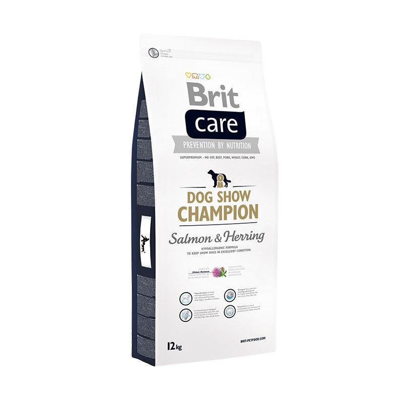 Brit Care Dog Show Champion 1 kg для выставочных собак