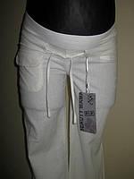Льняные брюки для беременных размер 52,54,56