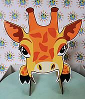 Прожорливые животные. Жираф. Игра для развития речевого дыхания