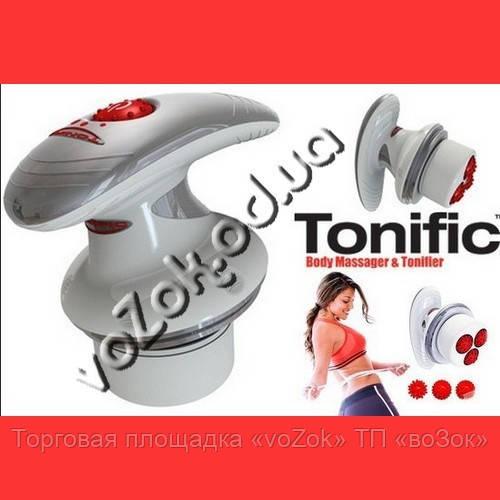 Массажер вибрационный игольчатый для тела Body Massager Tonific Тонифик