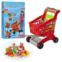Тележка супермаркета с продуктами 08059 B