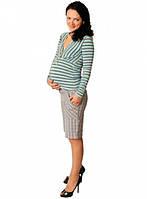 Распродажа!!! Блуза для беременных в полоску