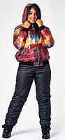 Женский костюм лыжный больших размеров на синтипоне