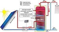 Гелиосистема для нагрева 300 л воды в сутки