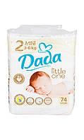 Подгузники Dada Premium Little One 3-6 кг (74шт)