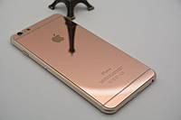 Пленка-стекло зеркальная для iPhone 6/6s Front/Back Rose Gold