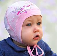 Головной убор для малышей Шапочка Розовая Осень 38-40 см 3-002270 Tutu Польша