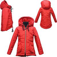 """Куртка """"Dorika"""" красная на девочку"""