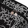 Рюкзак Adidas черный с белыми рисунками (реплика), фото 2