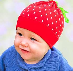 Головной убор для малышей Шапочка Белая Осень 44-48 см 3-002272 Tutu Польша