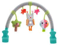 Музыкальная дуга для коляски ЛЕСНАЯ СОВА звук, свет Taf Toys (11875)