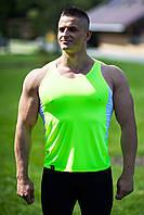 Майка для фитнеса PRO Lemon-White