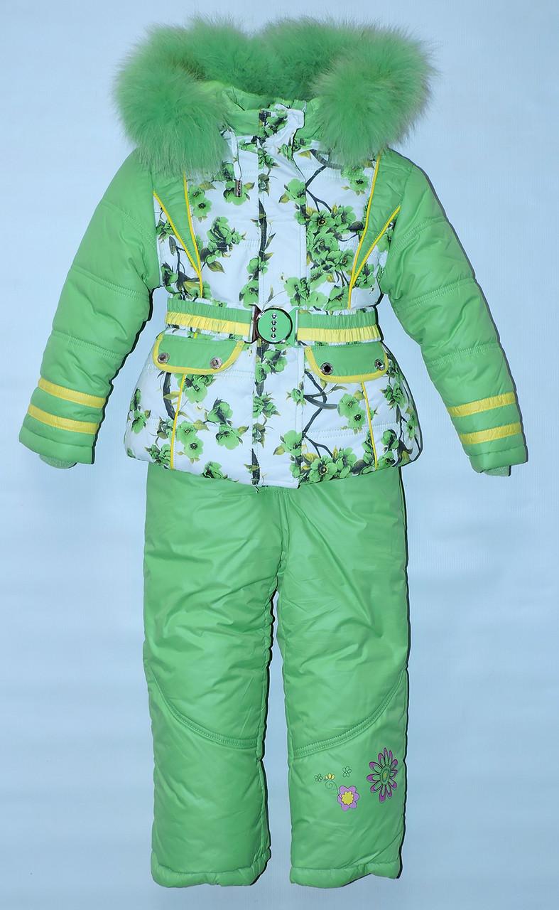 1fc50b306700a1 Купити Зимовий комбінезон трійку для дівчинки 1-5 рок Yongwan ...