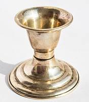 Классический подсвечник на одну свечу! Серебро,925