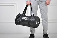 Сумка спортивная Nike бочка черная / nike