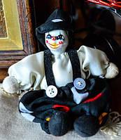 Коллекционная кукла! Клоун,Арлекин! Германия!
