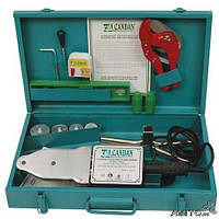 Паяльник для пластиковых труб CANDAN + ножницы!!!
