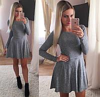 Короткое платье с пышной юбкой мх-902