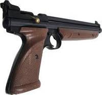 Мультикомпрессионный пневматический пистолет Сrosman 1377, калибр 4,5 мм, шарики + пули