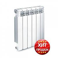 Радиатор отопления алюминиевый + монтажный набор