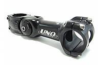 Вынос UNO AS-820 (31,8mm) черный регулируемый под толстый руль 110 мм
