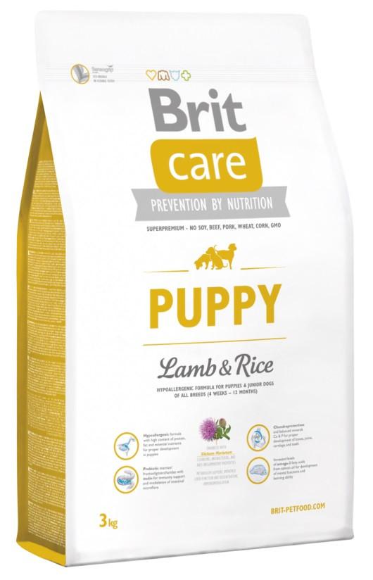 Brit Care Puppy Lamb & Rice 3 kg для щенков