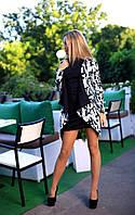 Платье комплектом с кардиганом