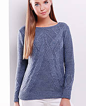 Женский вязаный свитер (16 mrs), фото 2