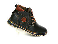 Зимние мужские кожаные ботинки GSL , фото 1