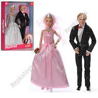 Кукла Defa мальчик+девочка(свадьба), 2 цвета (ОПТОМ) 8305 Defa