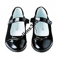 Красивые школьные туфли 36р