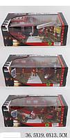 Игровой набор метал.XZ1134C35C36C Fire Engine set 134854456  3 вида в коробке 36,51913,5см