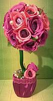 """Топи-арий композиция букет цветы из конфет """"Цветочная радость"""""""