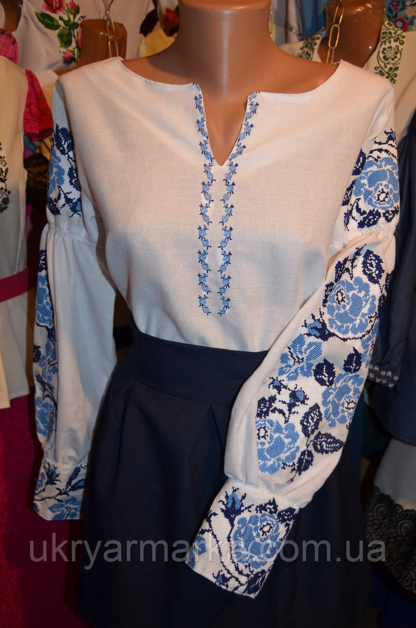 ... Вишита блузка