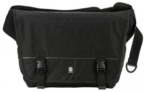 Практичная городская сумка 18 л. Muli Courier Crumpler MUC-001 черный