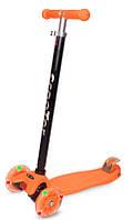 Самокат Scooter Micro оранжевый