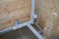 Монтаж канализации, прокладка труб канализации, установка канализационных труб