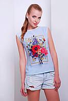 футболка GLEM Flowers футболка Киви б/р
