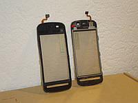 #4 Тачскрин сенсор Nokia 5228 5230 5233 5235 5800 черный