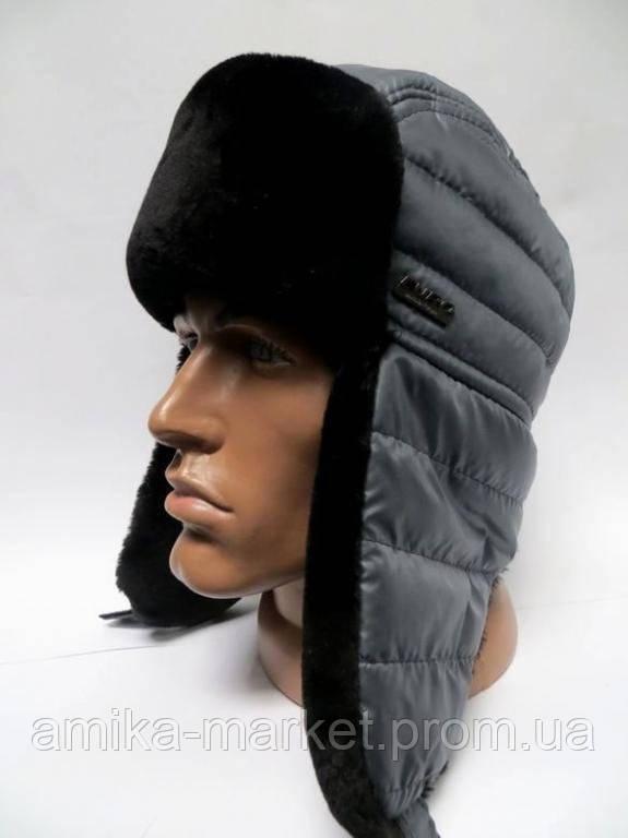 Зимняя шапка ушанка мужская - Амика-маркет в Хмельницком