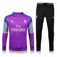Спортивный костюм Adidas, Реал Мадрид. Футбольный, тренировочный. Сезон 16/17