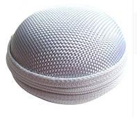 Чехол защитный для наушников и мелких аксессуаров шарообразный на молнии БЕЛЫЙ SKU0000296