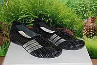 Балетки кроссовки летние кожа натуральная М20Ч в стиле Adidas размер 36