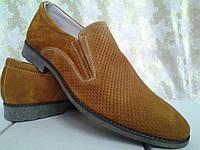 Классические летние коричневые туфли Faro СКИДКА!, фото 1