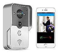 SFVI02, Дверной видеозвонок WiFi звонок, домофон видео звонок на телефон IP камера