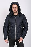 Куртка мужская теплая 52, темно-синий