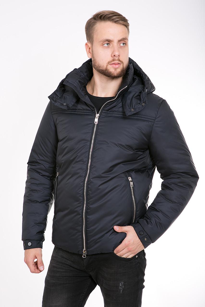 Зимняя мужская куртка T-226 черная
