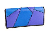 Цветной кошелек из натуральной кожи SWAN