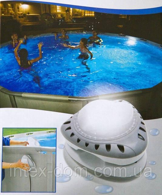 Для декоративного освещения используем лампы intex 56688